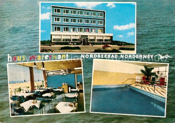 Norderney Nordseebad Haus Waterkant Kat Norderney Nr