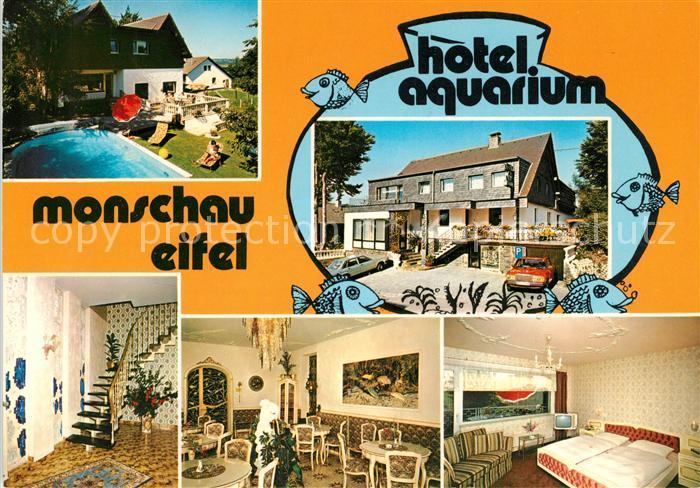 AK / Ansichtskarte Monschau Hotel Aquarium Kat. Monschau