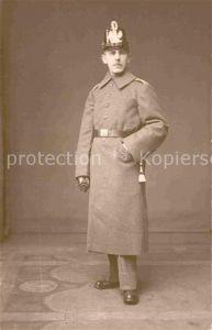 AK / Ansichtskarte Militaria Telegraphie WK1 Soldat Uniform