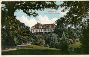 AK / Ansichtskarte Schoenhof Krasny Dvur Parkpartie mit Schloss
