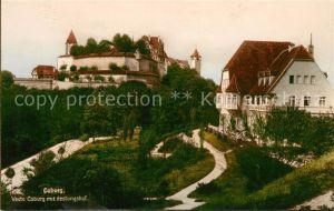 AK / Ansichtskarte Coburg Veste Coburg mit Festungshof Kat. Coburg