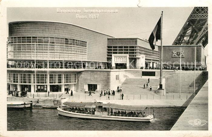 AK / Ansichtskarte Exposition Internationale Paris 1937 Pavillon de la Belgique  Kat. Expositions