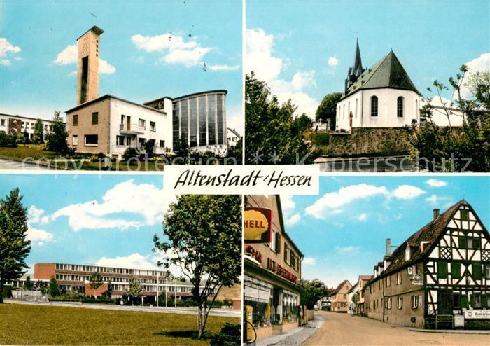 AK / Ansichtskarte Altenstadt Hessen Kirche  Kat. Altenstadt