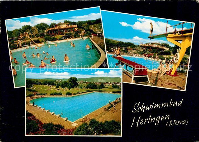 AK / Ansichtskarte Heringen Werra Schwimmbad Kat. Heringen (Werra)
