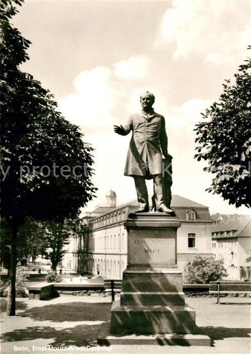 AK / Ansichtskarte Bonn Rhein Monument Ernst Moritz Arndt Kat. Bonn