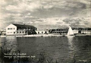 AK / Ansichtskarte Moerbisch See Seehotel Strandbad Kat. Moerbisch am See