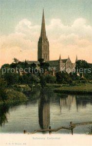 AK / Ansichtskarte Salisbury Cathedral Kat. Salisbury
