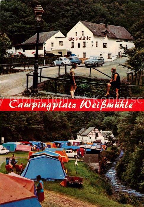 AK / Ansichtskarte Cochem Mosel Campingplatz Weissmuehle Kat. Cochem
