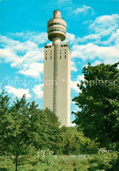 AK / Ansichtskarte Frankfurt Main Henninger Turm Kat. Frankfurt am Main