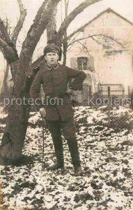 AK / Ansichtskarte Militaria WK1 Soldat Uniform Kat. WK1