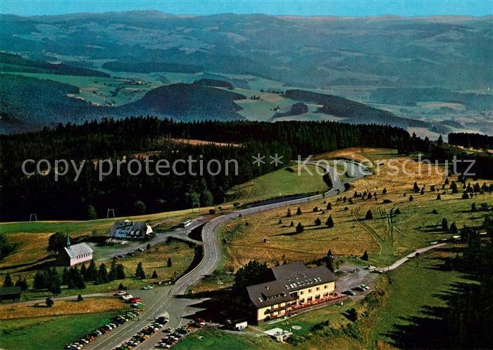 AK / Ansichtskarte Kandel Breisgau Berghotel Kandel Fliegeraufnahme