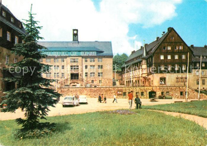 AK / Ansichtskarte Altenberg Erzgebirge Rathaus Kat. Geising