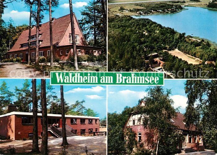 AK / Ansichtskarte Langwedel Holstein Waldheim am Brahmsee Kat. Langwedel