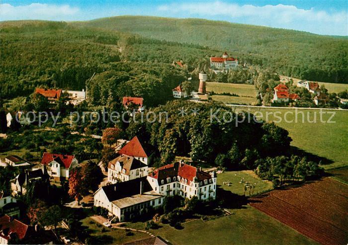 AK / Ansichtskarte Bad Rothenfelde Kursanatorium Nollmann Fliegeraufnahme Kat. Bad Rothenfelde