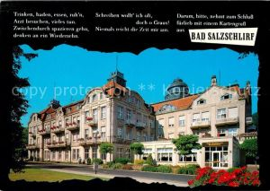 AK / Ansichtskarte Bad Salzschlirf Hotel Badehof Kat. Bad Salzschlirf