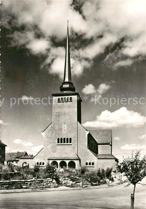AK / Ansichtskarte St Vith Wallonie Kirche Kat.