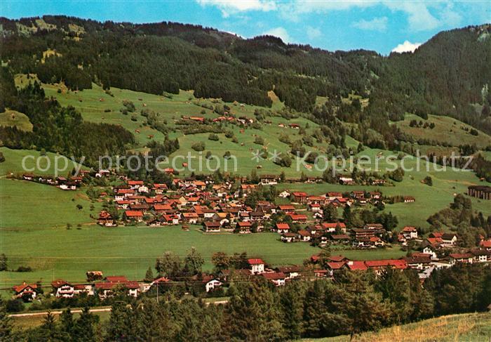 AK / Ansichtskarte Vorderhindelang Hirschberg Kat. Bad Hindelang