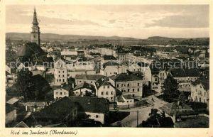 AK / Ansichtskarte Ried Innkreis Stadtpanorama mit Kirche Kat. Ried im Innkreis
