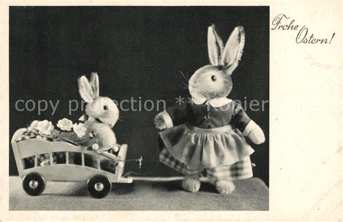 AK / Ansichtskarte Ostern Easter Paques Hasen  Kat. Greetings