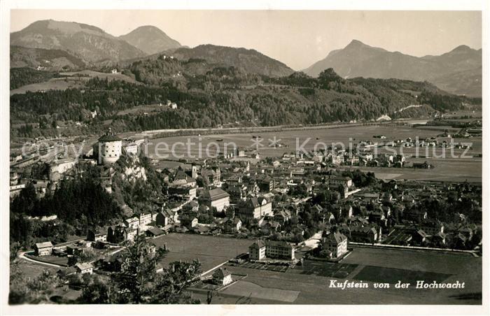AK / Ansichtskarte Kufstein Tirol Blick von der Hohwacht Kat. Kufstein