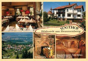 AK / Ansichtskarte Roethardt Vogthof Stolleneingang Besucherbergwerk Tiefer Stollen  Kat. Aalen