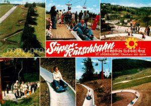 AK / Ansichtskarte Andreasberg Harz St Super Rutschbahn Matthias Schmidt Berg Kat. Sankt Andreasberg