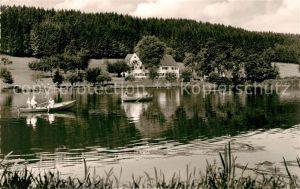 AK / Ansichtskarte Bad Clevers Kneipp Kurheim Uferpartie am See