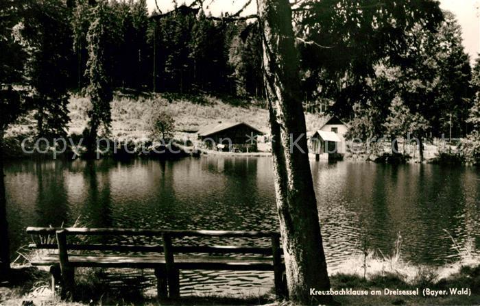AK / Ansichtskarte Haidmuehle Kreuzbachklause am Dreisessel Bayerischer Wald Kat. Haidmuehle