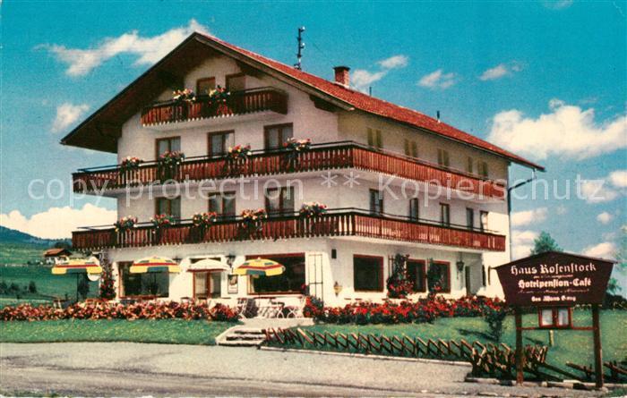AK / Ansichtskarte Fischen Allgaeu Hotel Pension Haus Rosenstock im Sonnengrund Kat. Fischen i.Allgaeu