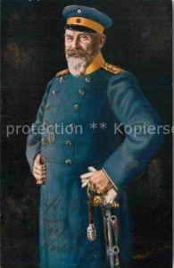AK / Ansichtskarte Militaria Adel Koenig Wilhelm II von Wuerttemberg