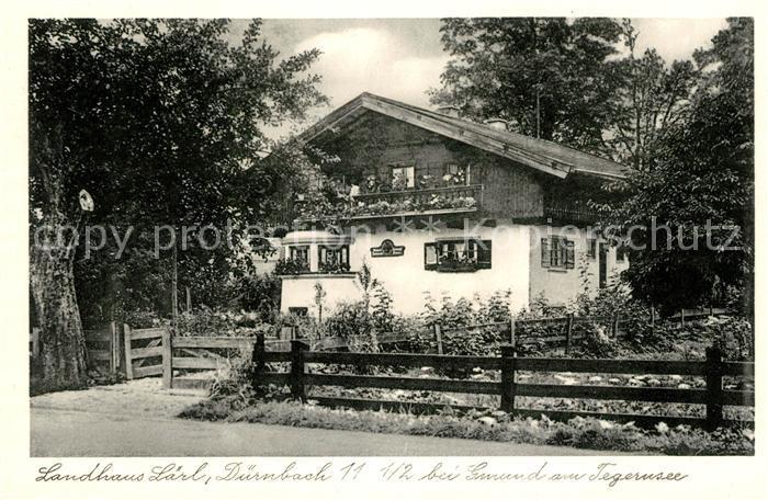AK / Ansichtskarte Gmund Tegernsee Landhaus Laerl Kat. Gmund a.Tegernsee