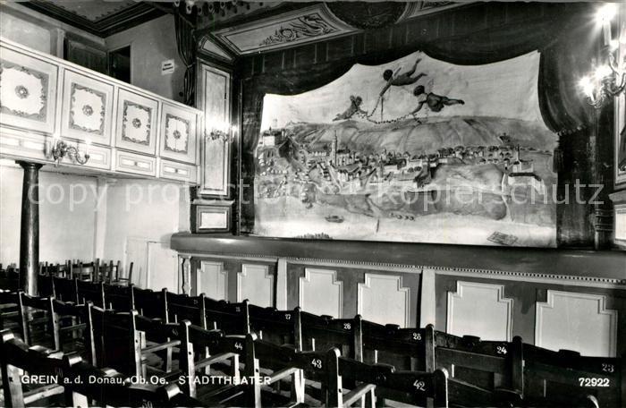 AK / Ansichtskarte Grein Donau Oberoesterreich Stadttheater Kat. Grein
