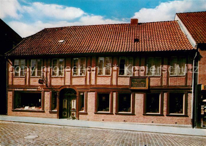 AK / Ansichtskarte Eutin Geburtshaus Carl Maria Weber Kat. Eutin