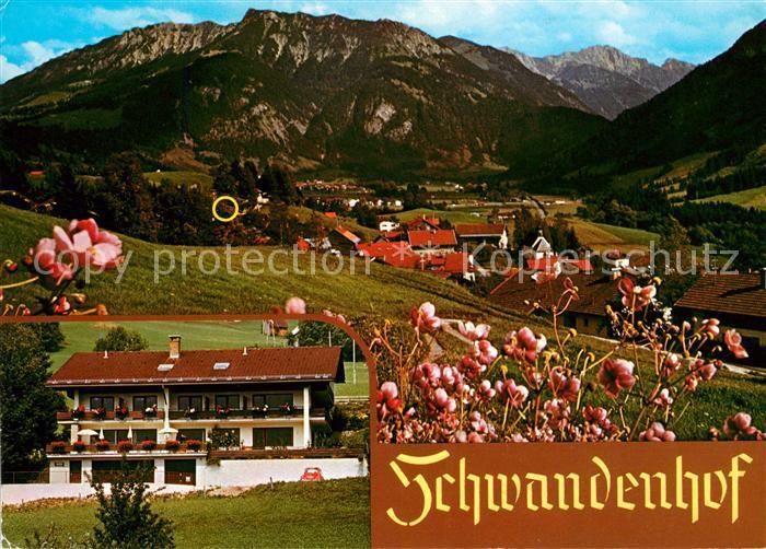 AK / Ansichtskarte Vorderhindelang Pension Schwandenhof Kat. Bad Hindelang