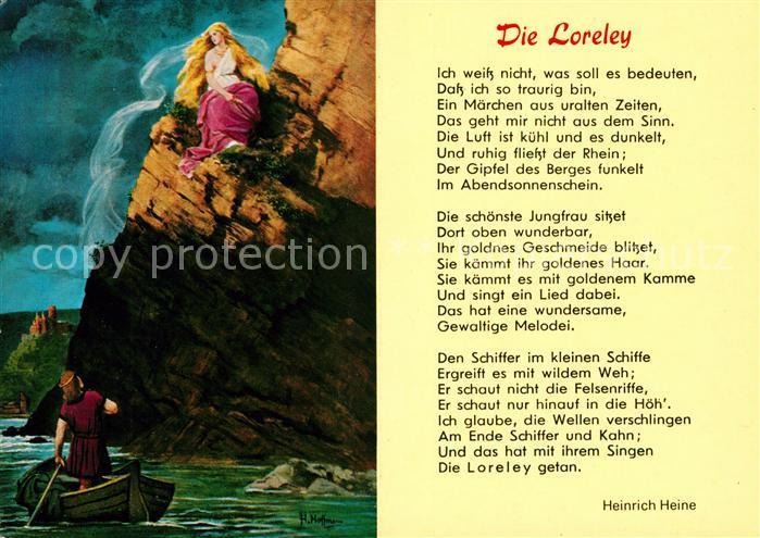 Die loreley gedichte