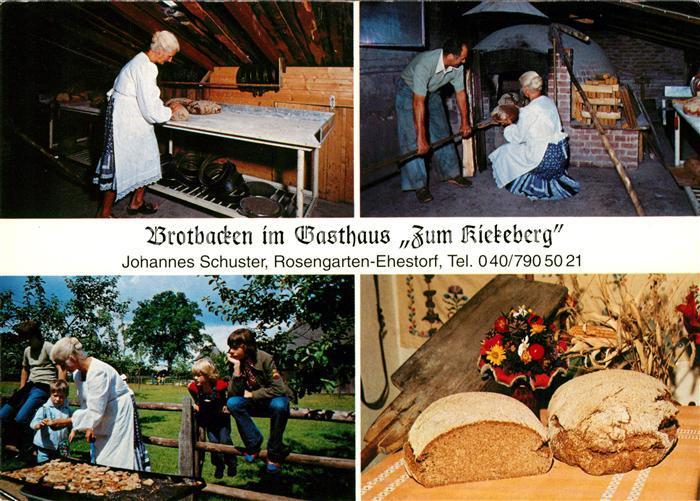 AK / Ansichtskarte Ehestorf Harburg Gasthaus Zum Kiekeberg Kat. Rosengarten