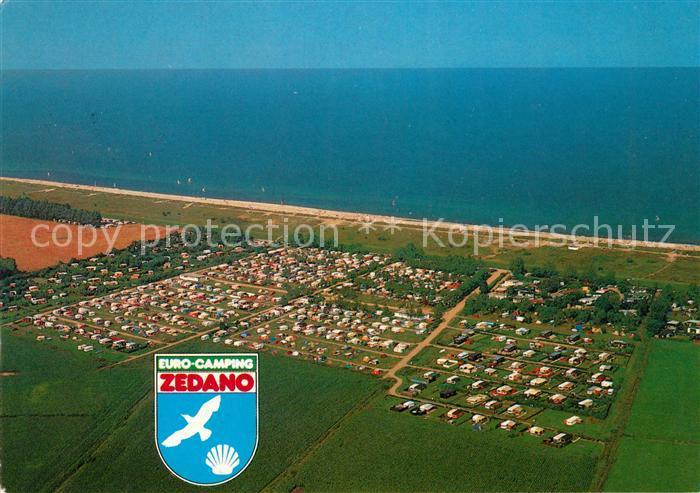 AK / Ansichtskarte Dahme Ostseebad Fliegeraufnahme Euro Camping Zedano Kat. Dahme