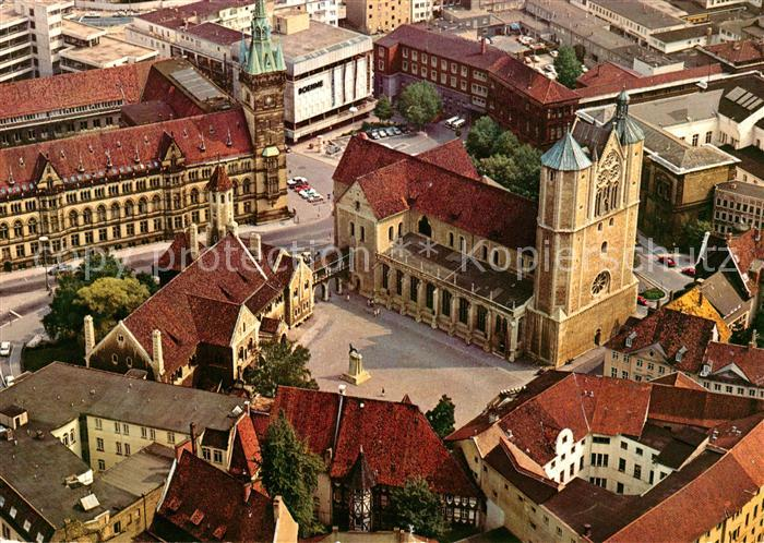 ak ansichtskarte braunschweig burgplatz loewe markt rathaus kirche brunnen burg dankwarderode. Black Bedroom Furniture Sets. Home Design Ideas