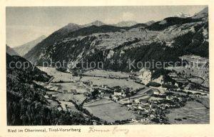 AK / Ansichtskarte Ried Innkreis Panorama Oberinntal Alpen Kat. Ried im Innkreis