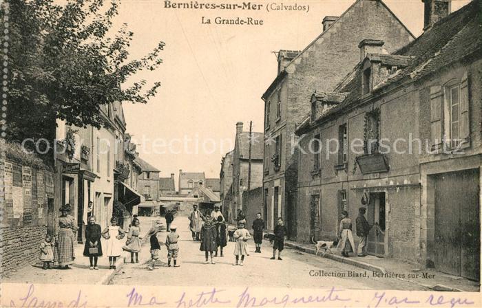 AK / Ansichtskarte Bernieres sur Mer La Grande Rue Kat. Bernieres sur Mer