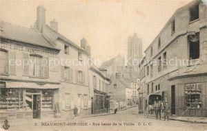 AK / Ansichtskarte Beaumont sur Oise Rue basse de la Vallee Eglise Kat. Beaumont sur Oise