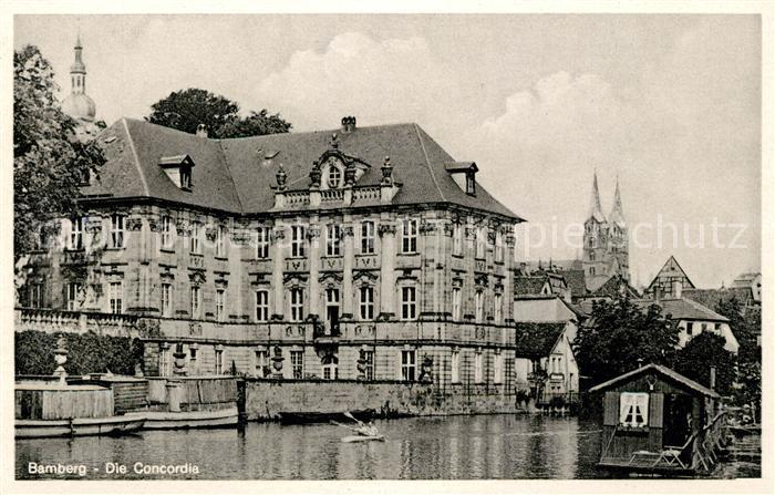 AK / Ansichtskarte Bamberg Die Concordia Kat. Bamberg
