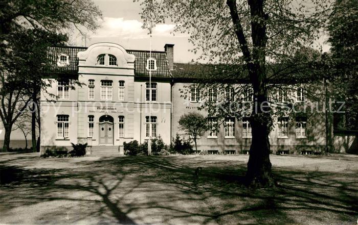 Ak Ansichtskarte Niendorf Ostseebad Westfalenhaus