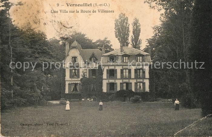 AK / Ansichtskarte Vernouillet Yvelines Une villa sur la Route de Villennes Kat. Vernouillet