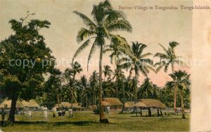 AK / Ansichtskarte Tongatabu Native Village