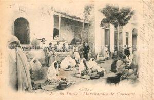 AK / Ansichtskarte Tunis Marchandes de Couscous Kat. Tunis