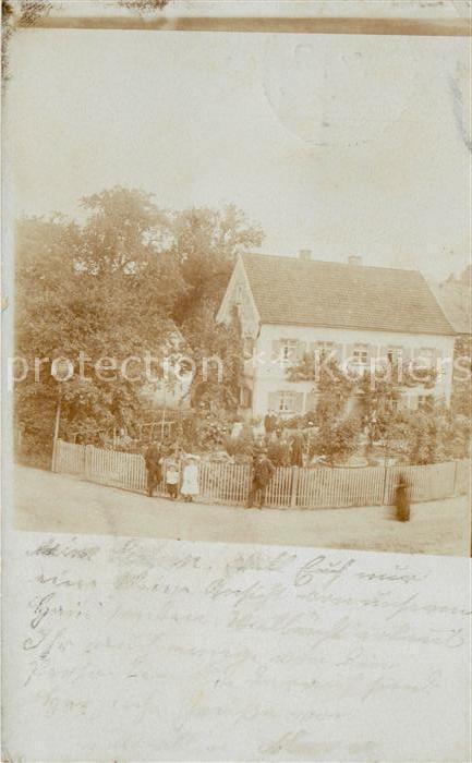 AK / Ansichtskarte Altenstadt Iller Wohnhaus mit Garten Kat. Altenstadt