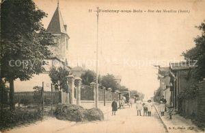 AK / Ansichtskarte Fontenay sous Bois Rue des Moulins Kat. Fontenay sous Bois