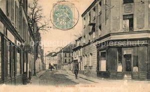 AK / Ansichtskarte Chatenay sur Seine Grande Rue Kat. Chatenay sur Seine