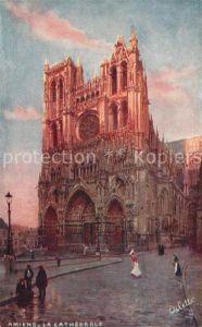AK / Ansichtskarte Verlag Tucks Oilette Nr. 1 Amiens Cathedrale Kat. Verlage